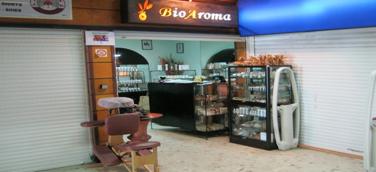 La boutique a L'aéroport d'Ivato